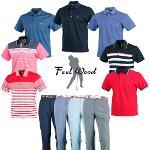 필우드 고기능성 남성 골프웨어 셔츠&팬츠 모음