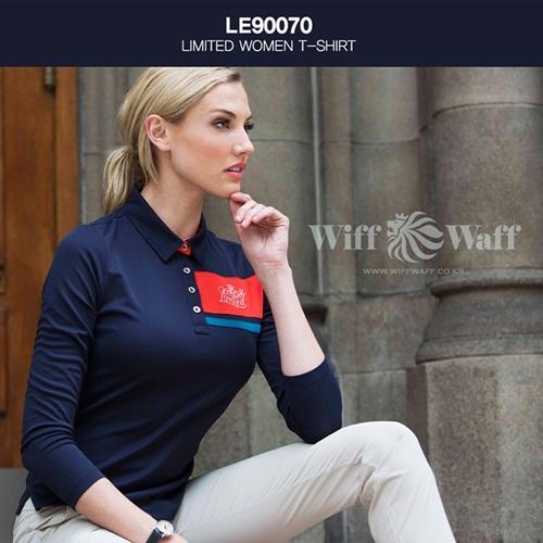 위프와프 골프 여성 긴팔 카라티셔츠 LE90070