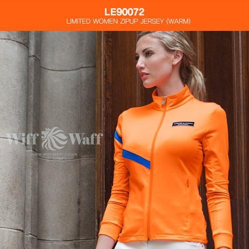 위프와프 골프 여성 기모 집업 LE90072