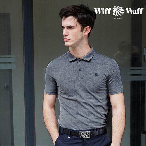 위프와프 골프 남성 반팔 카라 티셔츠 GS50218