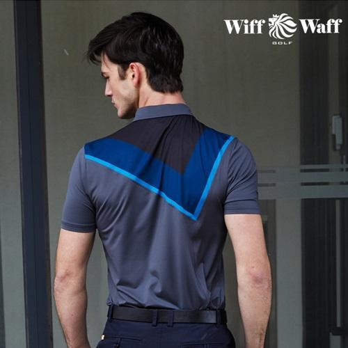 위프와프 골프 남성 반팔 카라 티셔츠 GS50216