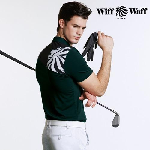 위프와프 골프 남성 반팔 카라 티셔츠 GS50215