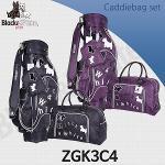 블랙앤화이트 ZGK3C4 캐디백세트 골프백세트