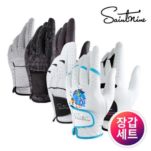 커터앤벅 남성 최고급 라이크라 LYCRA 천연 양피가죽 골프장갑
