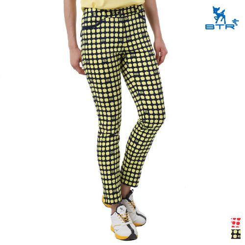 [BTR] 사과 패턴 배색 여름골프팬츠 에일리(여성) BNP9828W/골프바지