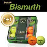 [1+1특가] 볼빅 Bismuth 3피스 골프공 1/2 DZ (6알) (화이트,옐로우,오렌지,핑크)
