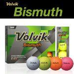 볼빅 Bismuth 3피스 골프공 1DZ (12알)(화이트,옐로우,오렌지,핑크)