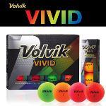 볼빅 VIVID 3피스 골프공 1DZ (12알)(4가지색혼합)