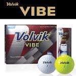 볼빅 VIBE 3피스 골프공 1DZ (12알)(화이트,옐로우)