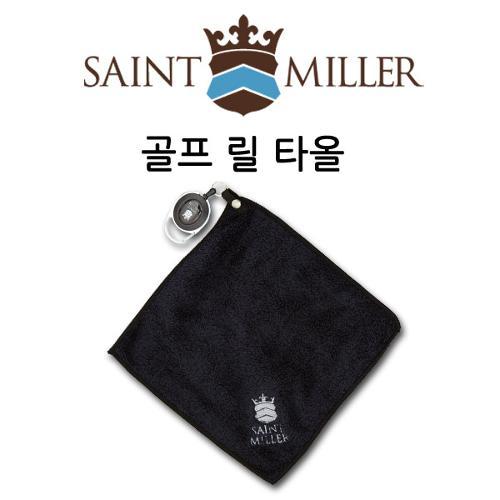[세인트밀러] 해외 라운드시 필수품 골프 릴 타올/다용도 타올/타월