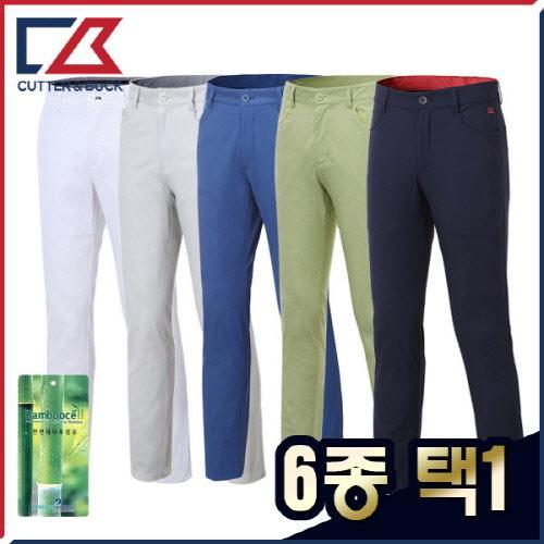 커터앤벅 남성 여름 최고급 스판소재 골프바지 6종 택1