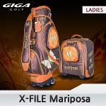 기가 2016 X-FILE Mariposa 마리포사 캐디백세트 여성