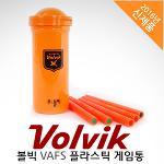 [2016년신제품-골프장필수품!]VOLVIK 볼빅 VAFS 플라스틱 게임통[케이스+스틱5개]