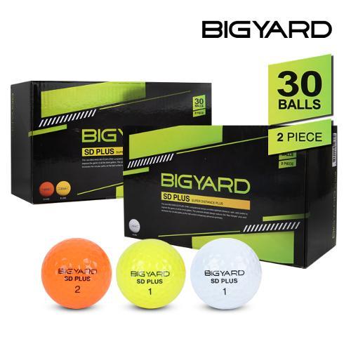 [마켓][넥센 빅야드] BIGYARD SD 빅야드 SD 30알 패키지 골프공/2피스/골프볼
