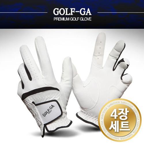 GOLFGA 남성 RX합성피혁콤비 골프장갑 4장1세트