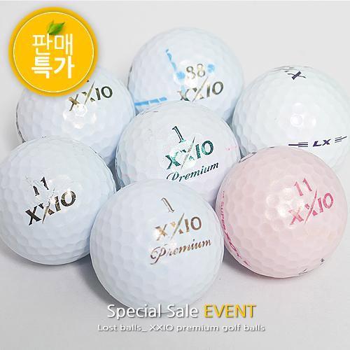 [특가판매] 젝시오 3피스 B+급 로스트볼 10알구성