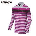 [레노마스포츠]남성 라인 테크 배색 티셔츠 RATS24561-PP