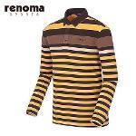 [레노마스포츠]남성 라인 테크 배색 티셔츠 RATS24561-MS