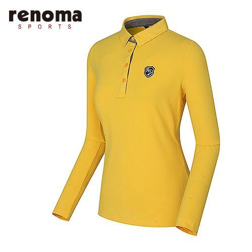 [레노마스포츠]여성 솔리드 제에리 티셔츠 RATS74561-YE
