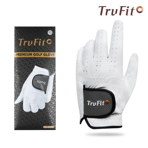 TRUFIT 트루핏 프리미엄양피 남성용 골프장갑 FULL LEATHER/골프용품
