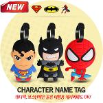 『판매/고객만족도1위』캐릭터 네임택(슈퍼맨/배트맨/스파이더맨)
