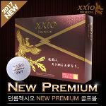 [2017년신제품]DUNLOP XXIO 던롭젝시오正品 NEW PREMIUM 뉴프리미엄 고반발슈퍼소프트 3피스 골프볼-12알