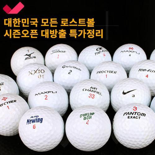 [낱알판매]대한민국 모든 로스트볼 총집합 시즌오픈 할인 특가