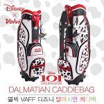 [2017년신제품]볼빅 VAFF 디즈니 101달마시안 바퀴달린 핸드캐리어 8.5인치 캐디백(VAFFCB01WT)
