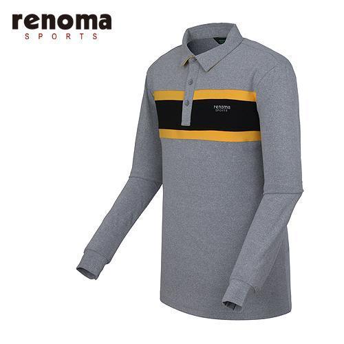 [레노마골프]남성 원포인트 카라 티셔츠 RMTYF4102-193
