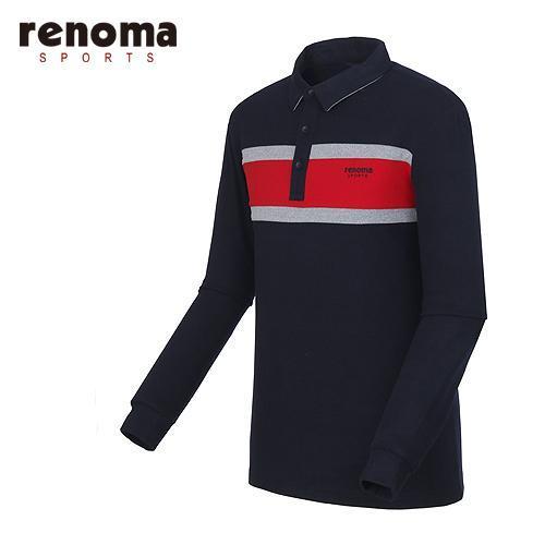 [레노마골프]남성 원포인트 카라 티셔츠 RMTYF4102-120