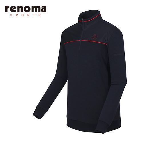 [레노마골프]남성 우븐요크 반집업 티셔츠 RMTHF4105-120