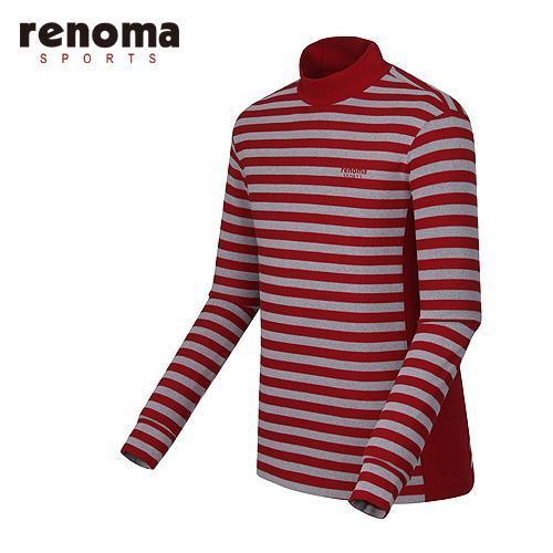 [레노마골프]남성 스트라이프 레이어 티셔츠 RMTHF4101-500