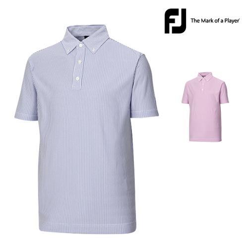 [풋조이] 옥스포드 스트라이프 버튼다운 셔츠 (31153,31154)_GA