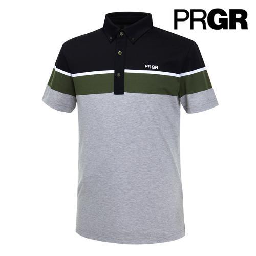 [PRGR] 프로기어 컬러블럭 피케 티셔츠 P15MT1-027_GA
