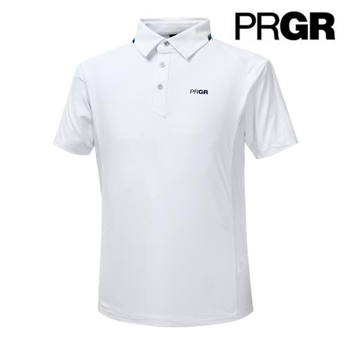 [PRGR] 프로기어 카라라인 메쉬배색 피케 티셔츠 P15MT1-020_GA