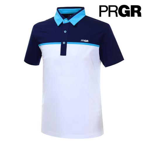[PRGR] 프로기어 컬러블럭 피케 티셔츠 P15MT1-029_GA