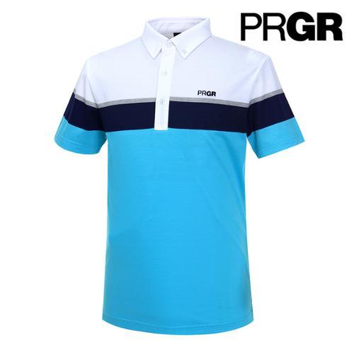 [PRGR] 프로기어 컬러블럭 피케 티셔츠 P15MT1-026_GA