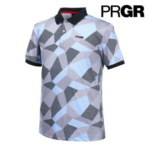 [PRGR] 프로기어 카모플라주 프린트 티셔츠 P15MT1-023_GA