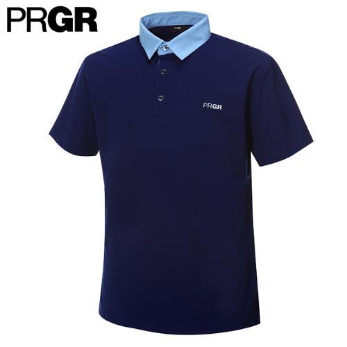 [PRGR] 프로기어 카라 배색 티셔츠 P15MT1-034_GA