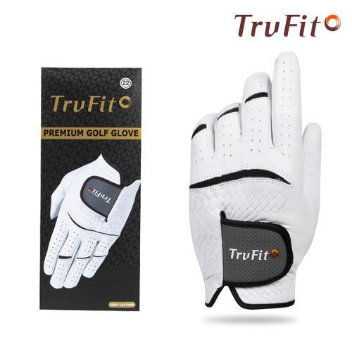 [마켓][TRUFIT] 트루핏 고급양피 남성용 골프장갑 VENT LEATHER/골프용품