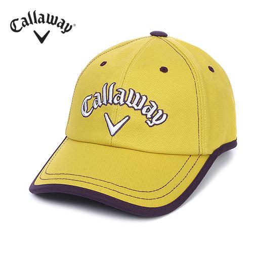 [캘러웨이]여성 제봉 라인 로고 캡 모자 CWACE7801-203