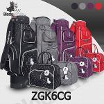 블랙앤화이트 ZGK6CG 바퀴형 캐디백세트 골프백세트