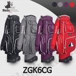 블랙앤화이트 ZGK6CG 바퀴형 캐디백 골프백