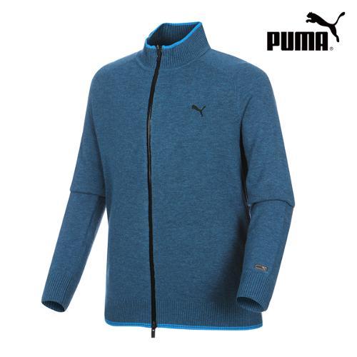 [푸마골프] 남성 Lux FZ Sweater 566700-01_GA