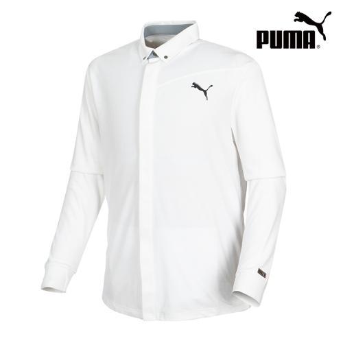 [푸마골프] 남성 Lux LS Polo 셔츠 566699-03_GA