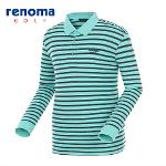 [레노마골프]남성 컬러블록 스트라이프 요꼬 티셔츠 RATS02511-MT