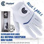 [클리브랜드] 정품 블루라벨 남성용 천연양피 골프장갑