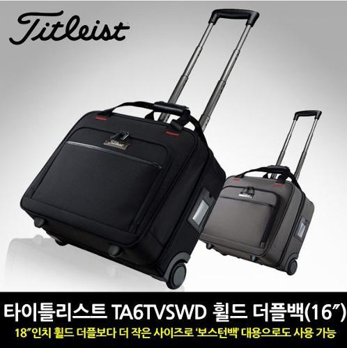 타이틀리스트 TA6TVSWD 휠드 16 더플백