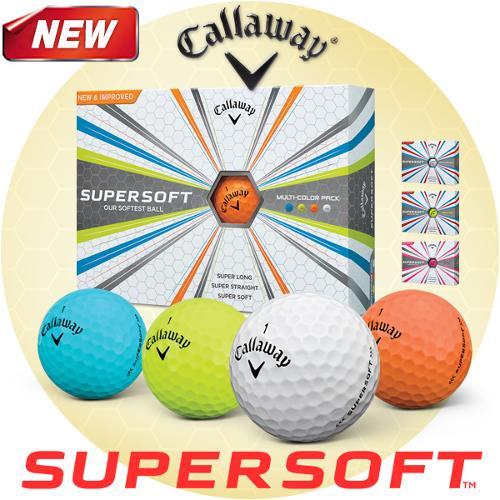 캘러웨이 NEW SUPER SOFT 17 골프공 (색상4종)
