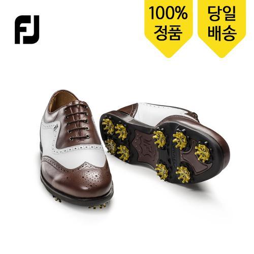 풋조이 아이콘블랙 52011 다크브라운/화이트